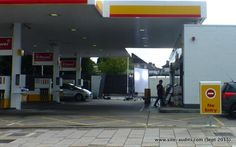 Look out for new @Shell ad campaign - closed #forecourt in #BexleyHeath yesterday - #Lights #Cameras #Action !!….