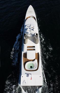 "Philipe Starck ""A""  http://www.boathistoryreport.com"