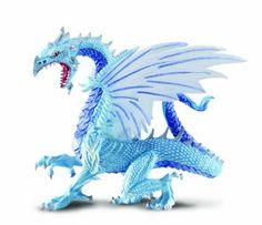 Amazon.com: Safari Ice Dragon Toy Figure: Toys & Games