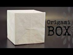 How to make an origami Heart Box (Bottom) - YouTube