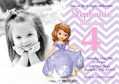 FREE Printable Sofia the First Birthday Invitation Pack Disney