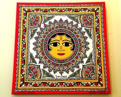 Surya (Sun) in Motifs of Mithila