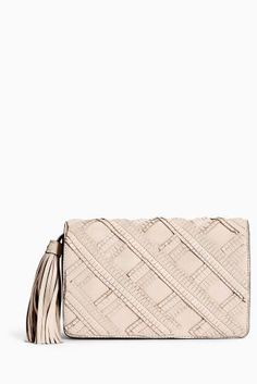 e5a7c6d37fff Buy Neutral Leather Clutch Bag from the Next UK online shop