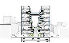 Galeria de ZAAD e Challenge Studio propõem nova tipologia residencial no Irã - 9