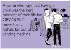 Hahahaha I'm sorry, no offense to parents out there, I just think this is hysterical!! Lol