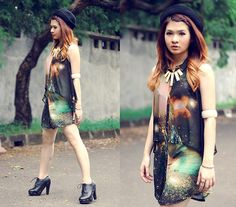 Talking about the galaxy (by Anastasia Siantar) http://lookbook.nu/look/3290581-Talking-about-the-galaxy