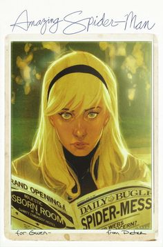 These Phil Noto Marvel Covers Look Like Beautiful Retro Snapshots. #spiderman #poordoomedgwenstacy