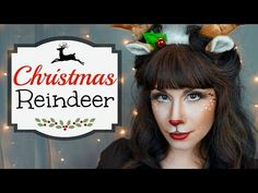 Christmas Reindeer Makeup Tutorial