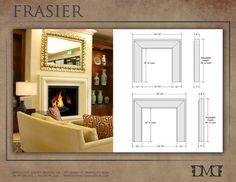Frasier Stone Mantel by Distinctive Mantel Designs, Inc. - eclectic - fireplaces - denver - Distinctive Mantel Designs, Inc.