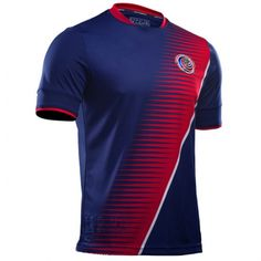 Costa Rica National Team 2017-18 Gold Cup Third Soccer Jersey - Click Image to Close