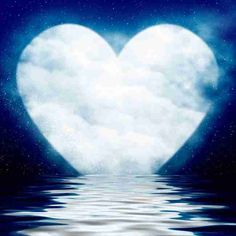 My blue blue heart Heart In Nature, Heart Art, Beautiful Nature Wallpaper, Beautiful Moon, I Love Heart, Happy Heart, Happy Life, Heart Pictures, Beautiful Pictures