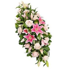 Sprays & Sheafs Funeral & Sympathy Flowers from Springfield Florist of Chelmsford, Essex Flower Wreath Funeral, Funeral Flowers, Funeral Floral Arrangements, Easter Flower Arrangements, Funeral Caskets, Casket Flowers, Funeral Sprays, Flower Factory, Art Crafts