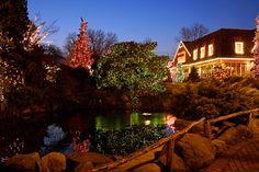Christmas at Peddler's Village in @Visit Bucks County