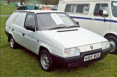 Rare 1993 Skoda Favorit Freeway Plus Van engine Shooting Brake, Mini Trucks, Cars And Motorcycles, Vintage Cars, Volkswagen, Classic Cars, Automobile, Vans, Passion
