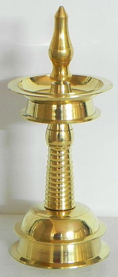 Standalone Oil Lamp (Brass))