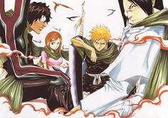 Bleach: When Tito Kube still knew where he was going.