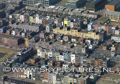 Kleurrijk wonen in IJburg