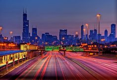 Driving into Chicago from the burbs... a favorite past time :)