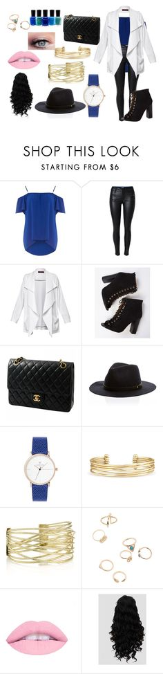 """Untitled #206"" by luvuallthetime on Polyvore featuring Dorothy Perkins, Chanel, Stella & Dot and Zoya"