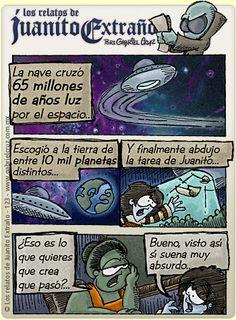 Los relatos de Juanito Extraño · Historias fantásticas...