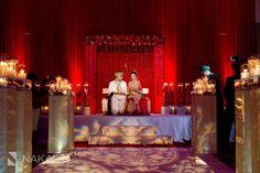 Abricoe Designed Wedding Stage for a recent Pakistani Wedding.