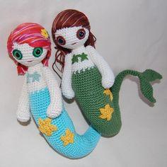 PATTERN mermaid PDF by mygurumi on Etsy