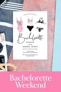 How do you plan a bachelorette weekend? First you need to invite everyone to the party! #bachelorette #wedding Bachelorette Itinerary, Bachelorette Party Cups, Bachelorette Party Invitations, Bachelorette Weekend, Party Planning Checklist, Wedding Vendors, Wedding Ideas, Wedding Stationery, Invite