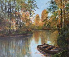 Nando Conti - Lago in autunno
