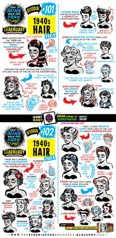 https://studioblinktwice.deviantart.com/art/How-to-draw-1940s-HAIR-tutorial-723554072