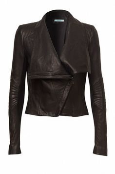Stay ahead of the trends, with the newest styles in women's fashion, shoes and accessories - available in KOOKAÏ boutiques and online now! Triumph Leather Jacket, Leather Jacket Outfits, Leather Jackets, Hot Outfits, Vogue, Wearing Black, Leather Fashion, Winter Fashion, Jackets For Women