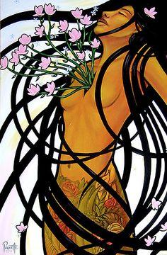 A Fearless Heart Canvas Print by aaronpaquette Native Art, Native American Art, American Artists, Illustrations, Illustration Art, Heart Canvas, Heart Art, Indigenous Art, Aboriginal Art