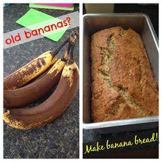 The Food Hussy!: Recipe: Egg-free Banana Bread
