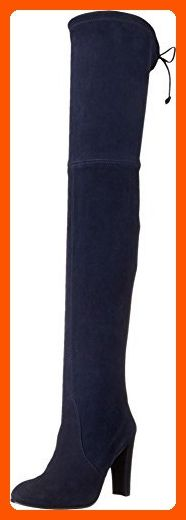 Stuart Weitzman Women's Highland Niceblue Suede Boot 11 M - All about women (*Amazon Partner-Link)
