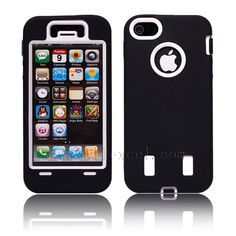 Discount China 200 pcs/lot Premium Shock proof Hard Combo Case Cover For Apple iPhone 5 5G [MEMPSC05IP5]- US$236.00 - www.mallexcel.com