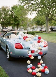 Wedding car...