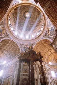 Vatican City - Dome of St. Peter's Basilica