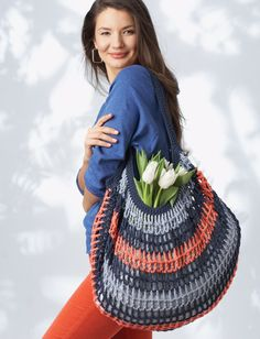 Crochet Bags and Totes for Spring
