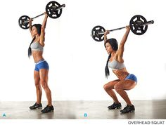 Raise The Bar: How To Master The Overhead Squat - 3 / Squat - Bodybuilding.com
