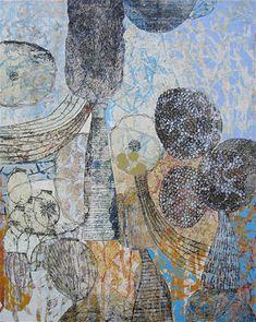 Eva Isaksen - Works on Canvas - Ascend