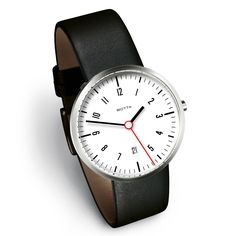 Tres 40 White Date Leather 20 / design by Klaus Botta