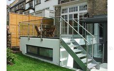 outdoor metal stair railing/stainless steel handrail