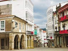 Betanzos Celtic, Spain, Street View, Traditional, Architecture, Building, Cabin Size Suitcase, Travel Items, Places To Visit