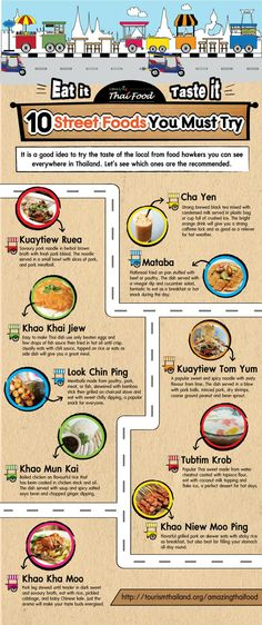 Mmm, getting hungry now. Thai street food guide, via @Amazing Thailand  #travel #thailand