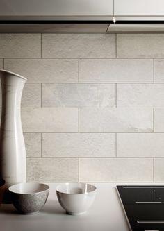 La Fabbrica Ceramiche – HIGH LINE Collection - www.lafabbrica.it - #Broadway colour #kitchen #white #stone