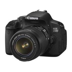 #Canon_EOS_650D with 14% #discount. Digital SLR, 18 Megapixel, USB, SD, SDHC, SDXC, 575 g. Buy now at £513.14 http://www.comparepanda.co.uk/product/12819277/canon-eos-650d