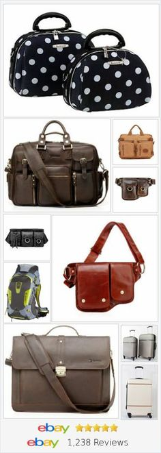 Lugagge and travel gear for the stylish globe-trotter, Available in LazyBreeze Deals store on eBay!