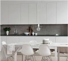 White Kitchen Interior Design With Modern Style 20 Concrete Kitchen, Kitchen Tiles, New Kitchen, Kitchen Flooring, Kitchen Splashback Ideas, Kitchen Dining, Kitchen Worktops, Kitchen Board, Stone Kitchen