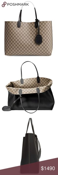 3a2b57a02c Gucci 368571 Large Turnaround Reversible SAME DAY SHIPPING USPS 1-3 DAY  PRIORITY MAIL Authentic Made in Italy New and never used This bag has tags
