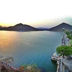 Fateh sagar lake,Udaipur