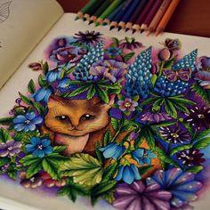 Coming back. #blomstermandalacoloringbook #målarbok #blomstermandalamålarbok…